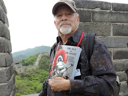 Ron Singerton at the China Wall